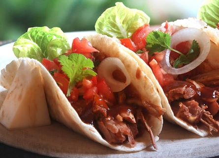 Ray's pulled pork taco's